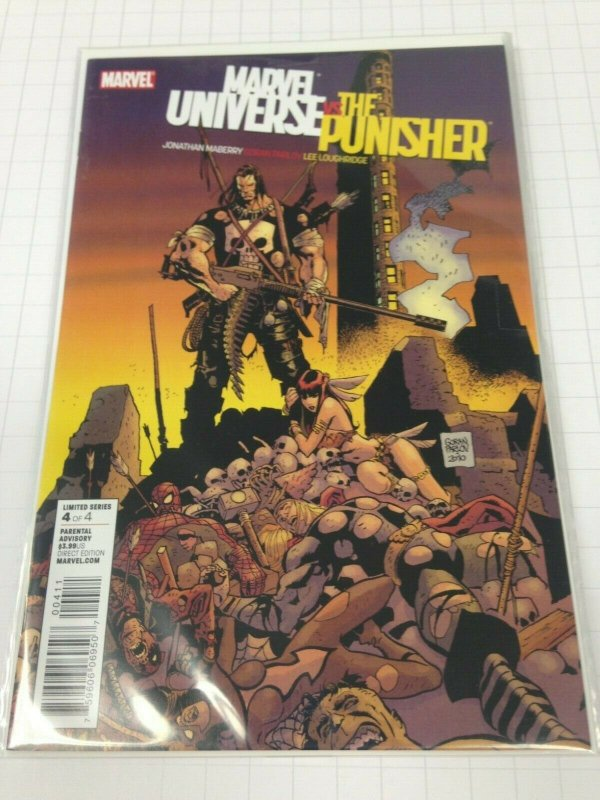 Marvel Universe Vs. The Punisher 1-4 set Avg. grade NM