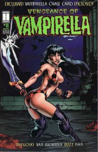 Vengeance of Vampirella #11 VF/NM; Harris | save on shipping - details inside
