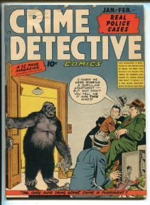 Crime Detective #6 1949-Gorilla-safe crackers-Al Mc Williams art-VG MINUS