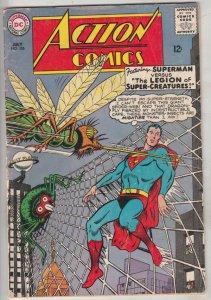 Action Comics #326 (Jul-65) VG/FN Mid-Grade Superman, Supergirl