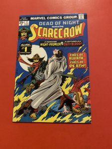Dead of Night #11 (1975)  the first scarecrow