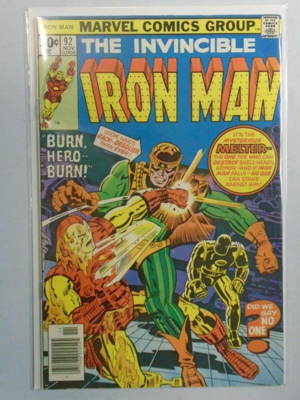Iron Man #92 (1976 1st Series) 5.5/FN-