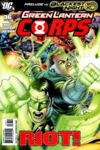Green Lantern Corps (2nd Series) #36 VF/NM; DC | save on shipping - details insi