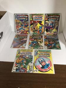 Captain America 242 244 245 246 247 248 249 250 Fn-Vf Fine-Very Fine 6.0-8.0