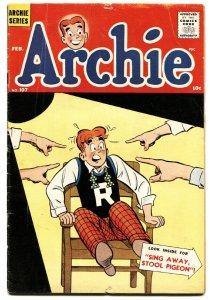 Archie Comics #110 1960- Stool pigeon- VG