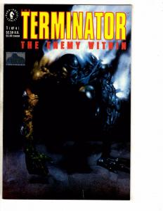 8 Terminator Dark Horse Comics #1 2 3 4 Enemy Within & Secondary Objectives PP16