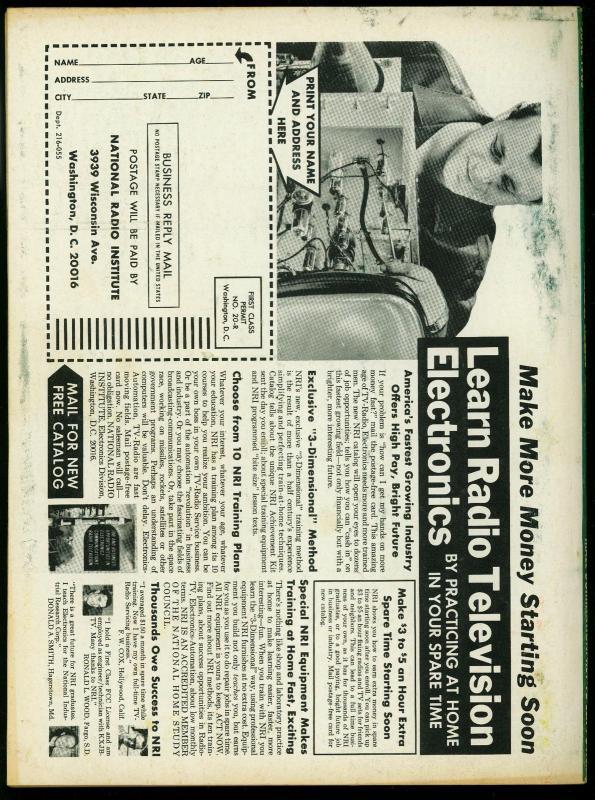 Real Men Pulp Magazine June 1965- Nazi Torture cover- Cannibal Harem VG
