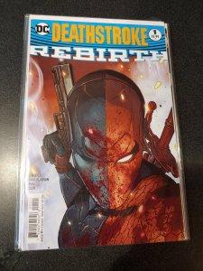 DEATHSTROKE 1 VARIANT COVER DC COMICS REBIRTH SERIES