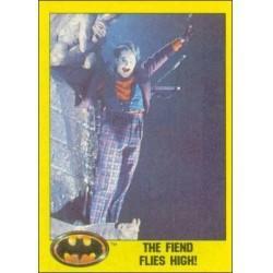 1989 Batman The Movie Series 2 Topps THE FIEND FLIES HIGH