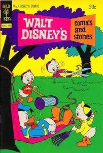 Walt Disney's Comics and Stories #396, Good+ (Stock photo)