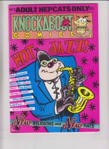 Knockabout Comics #5 VF- underground comix - hunt emerson - british import