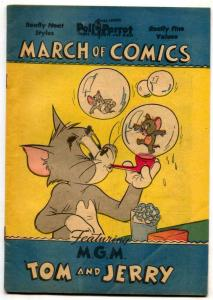 March of Comics #70 1951- TOM & JERRY VF-