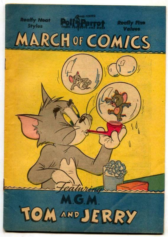 March of Comics #70 1951- TOM & JERRY VF- / HipComic