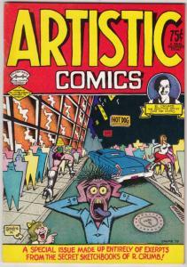 Artistic Comics #1 (Jan-73) VF/NM High-Grade