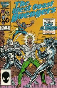 West Coast Avengers (1985 series) #7, VF+ (Stock photo)