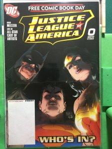 Justice League of America #0