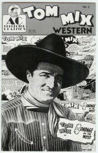 TOM MIX WESTERN (1989 AC) 2 (2.50 CVR) F-VF PHOTO COVER COMICS BOOK