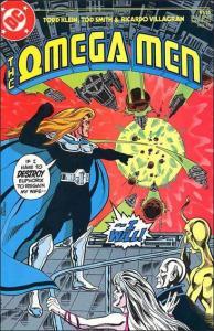 DC THE OMEGA MEN (1983 Series) #15 NM