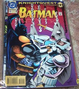 Batman  #502 (Dec 1993, DC) azrael knightquest the crusade
