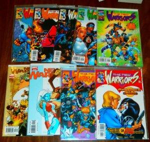 New Warriors   vol. 2-3 (set of 9)