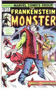 Frankenstein, the Monster of #16 (May-75) VF High-Grade Frankenstein