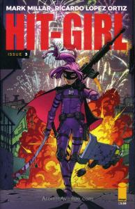 Hit-Girl (2nd Series) #3A VF/NM; Image | save on shipping - details inside
