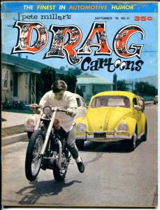 Drag Cartoons #31 1966-Motorcycle cover-Wonder Warthog-Gilbert Shelton-VG
