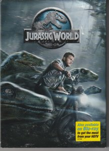 Jurassic World DVD   History repeats itself !!!