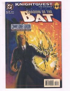 Batman Shadow Of The Bat #28 VF DC Comics Knightquest Comic Book Grant DE20
