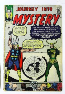 Journey into Mystery (1952 series) #94, Good+ (Actual scan)