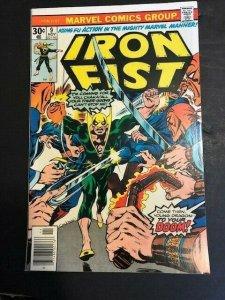 Marvel Comics Group ~ Iron Fist #9 Fine/Very Fine (7.0) 1976 (838J)