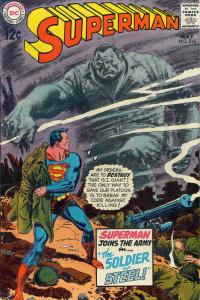 Superman (1st Series) #216 VF; DC | save on shipping - details inside