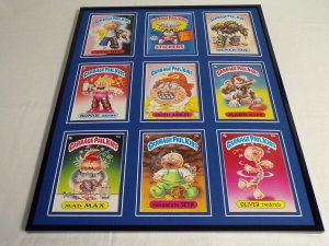 Garbage Pail Kids Series 2 Framed 16x20 Display Mad Max Bonnie Bunny