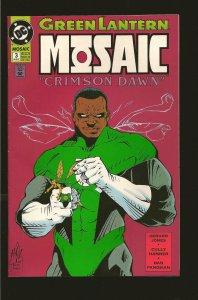 DC Comics Green Lantern: Mosaic #3 (1992)