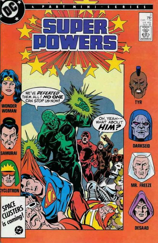 Super Powers (3rd Series) #3 FN; DC | save on shipping - details inside