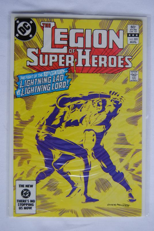 Legion of Super-Heroes 302