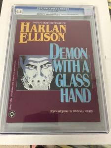 DC Science Fiction Graphic Novel 5 Demon With A Glass Hand Cgc 9.8 Perfect Cond.