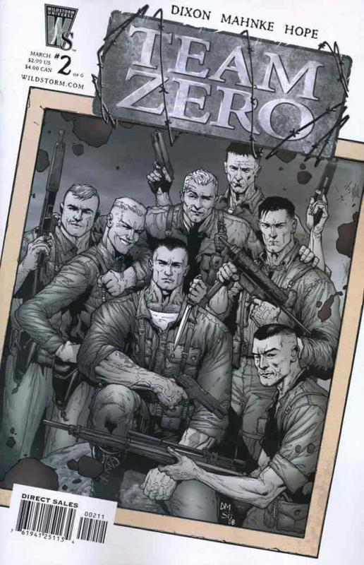 Team Zero #2 VF/NM; WildStorm | save on shipping - details inside