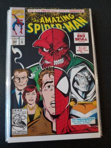 ​AMAZING SPIDER-MAN #366 - RED SKULL TASKMASTER HIGH GRADE