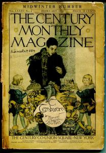 Century Monthly Magazine 2/1913-Lincoln-Charles B Chapman-pulp format-FR