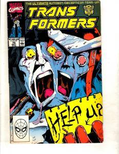 Transformers # 70 FN/VF Marvel Comic Book Bumblebee Optimus Prime Megatron DJ1