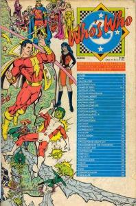 Who's Who: The Definitive Directory of the DC Universe #4, VF+ (Stock ph...