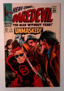 Daredevil #29 Marvel 1967 FN- Silver Age Comic Book 1st Print