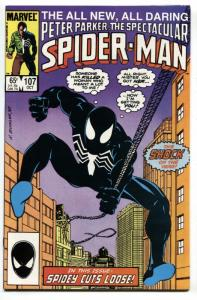 Spectacular Spider-Man #107 1986 1st Sin Eater - COMIC BOOK