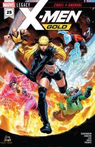 X-Men Gold (2017 series) #25, NM + (Stock photo)