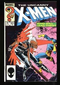 Uncanny X-Men #201 NM+ 9.6 1st Baby Cable!