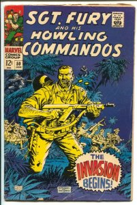 Sgt. Fury and His Howling Commandos Lot #7-Marvel-issues 8,11,40,52,50-Stan L...
