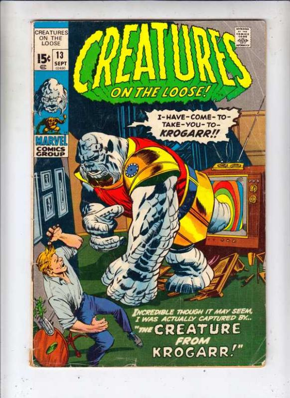 Creatures on the Loose #13 (Sep-71) VG Affordable-Grade Korilla