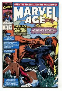 Marvel Age #99-1991-Infinity Gauntlet preview-comic book