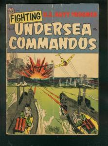 FIGHTING UNDERSEA COMMANDOS #2 1952-FROGMEN IN KOREA G/VG